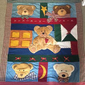 "Teddy bear blanket 5'9"" x 4' for Sale in East Meadow, NY"