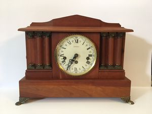 Antique 341-020 Emperor Chiming Clock West Germany For Parts Not Working for Sale in Palm Beach, FL