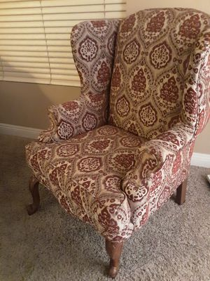 Wingback chair for Sale in Victorville, CA