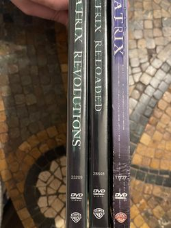 Matrix Trilogy Set Pre-owned for Sale in Spring,  TX