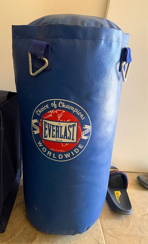 Everlast Punching Bag for Sale in Walnut Creek, CA