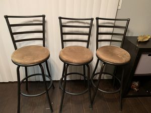 """Barstool Set """"3"""" for Sale in Lithonia, GA"""
