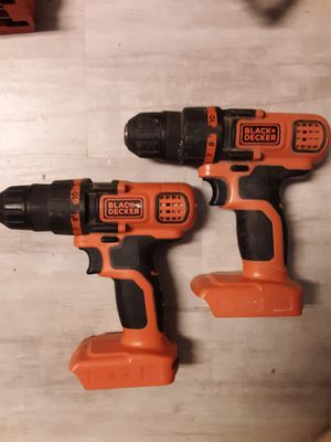 Black and decker 20 volt drill for Sale in Henderson, KY