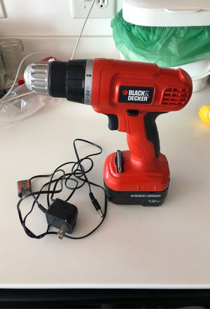 12v black and decker drill for Sale in Oakland, CA