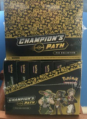 Pokémon TCG Champions Path Pin Box - Sealed 6 box set for Sale in Castro Valley, CA