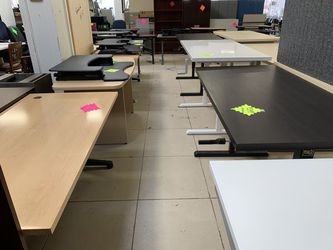 New Arrivals! Assortment of High Quality Sit Stand Office Desks for Sale for Sale in Portland,  OR