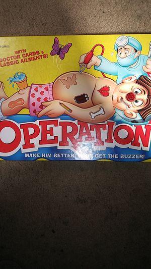 Hasbro Operation Game for Sale in Richmond, VA