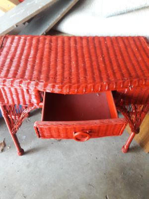 Red wicker for Sale in Anaheim, CA
