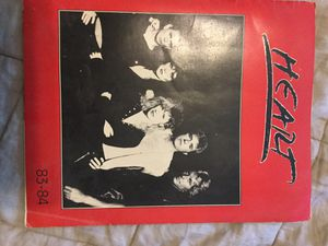 Heart 1983-84 Tourbook Program for Sale in Christiansburg, VA
