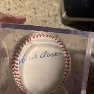 Autographed Baseball for Sale in Everett, WA