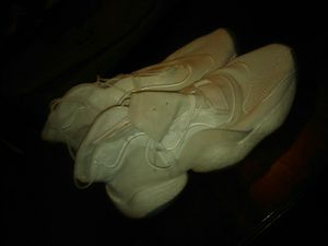Adidas size 11 worn once for Sale in Stockton, CA