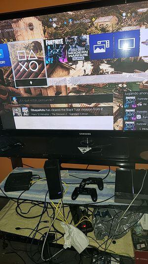 TV 55 pulgadas 3D ps4 Sony computadora mesa de la tv de bidrio for Sale in Dallas, TX