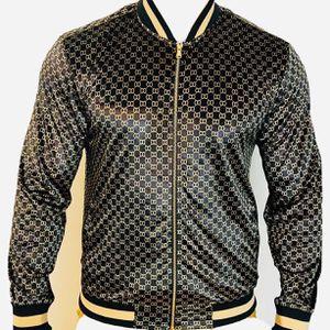 Brand new velvet fancy Unisex bomber light jacket for sell for Sale in Los Angeles, CA