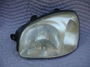 Santa fe used head lights 2 for Sale in Springfield, VA