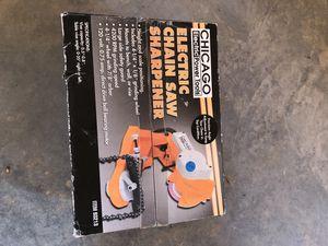 Chain saw sharpener. New in box for Sale in Wooldridge, MO