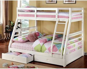 🇺🇸🎈🇺🇸Twin full bunk bed $549 with twin full mattress 👈🇺🇸🎈 for Sale in Fresno, CA