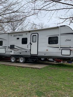 Camper Travel Trailer 2 Bedroom 2 Full Size Bunk Beds 1/2 Ton Towable for Sale in Burleson,  TX