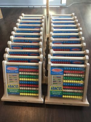 Toy Abacus wooden counting toy Brand New for Sale in Hyattsville, MD