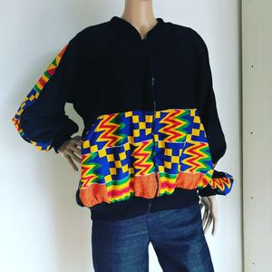 Ankara African Print Unisex Bomber Jacket for Sale in Millersville, MD
