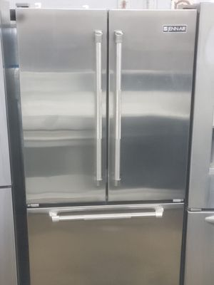 Jenn-air french door refrigerator silver 36 inches for Sale in Paterson, NJ