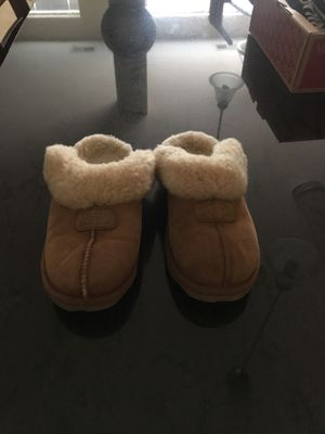 Ugg slipper slides for Sale in Glen Burnie, MD