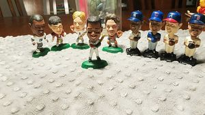 Miniature 1990s football and baseball miniature size bobbleheads All-Stars for Sale in Monterey Park, CA
