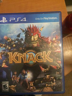 Knack PS4 for Sale in Manassas, VA