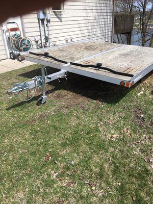 Aluminum snowmobile trailer for Sale in Mishawaka, IN