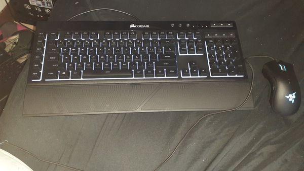 CORSAIR Gaming Keyboard/RAZOR DEATHADDER ELITE Gaming mouse