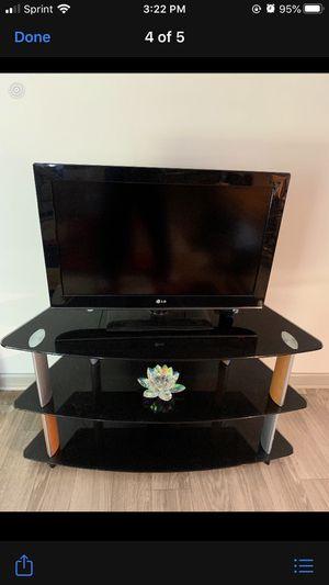 Lovely Three shelf Tv stand for Sale in Murfreesboro, TN