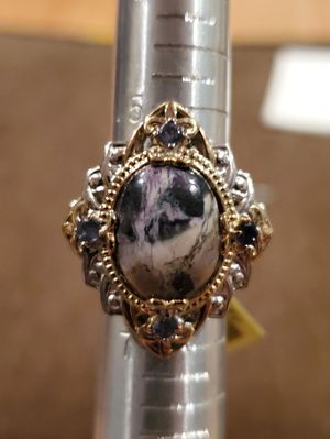 Exquisite Utah Tiffany Ring with Amethyst Accents for Sale in Gainesville, VA