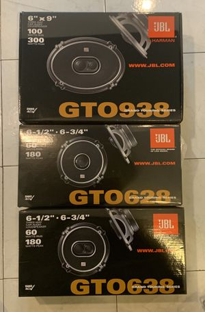BRAND NEW, NEVER BEEN USED JBL SPEAKERS for Sale in Washington, DC