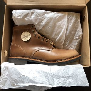 New unworn No shipping Thorogood 1892 beloit Made in USA natural chromexcel leather boots , Size 12 D US Men's for Sale in Kent, WA