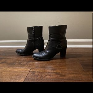 Cole Haan Leather Heel Booties for Sale in Pontiac, MI