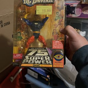 DC Universe Classics OMAC Action Figure Wave 15 Figure Dc Comics 75 Years Of Super Power for Sale in Waco, TX