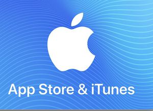 Apple Itunes Card 120$ for Sale in Klamath Falls, OR