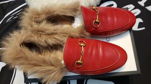 Authentic Gucci fur loafers for Sale in Norfolk, VA