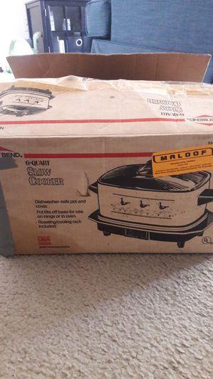 West Bend 6 Quart Slow Cooker Crock Pot for Sale in Sterling Heights, MI