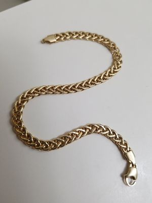 14k bracelet made in italy milor womens for Sale in Neffsville, PA