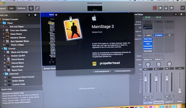 2012 MacBook Pro - Music and video editing software.