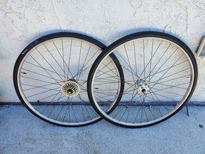 "Road Bike Wheelset 27"" x 1 1/4"" for Sale in San Diego, CA"