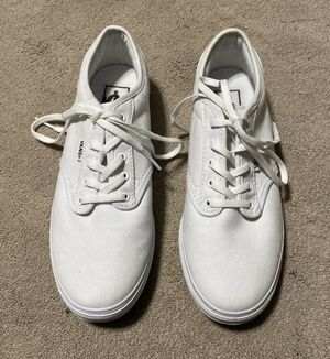 Woman's White Vans for Sale in Brunswick, OH