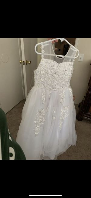 White flower girl dress for Sale in San Diego, CA