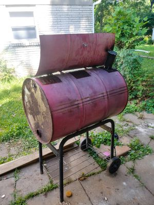 55 gallon barrel grill for Sale in Jonesboro, GA
