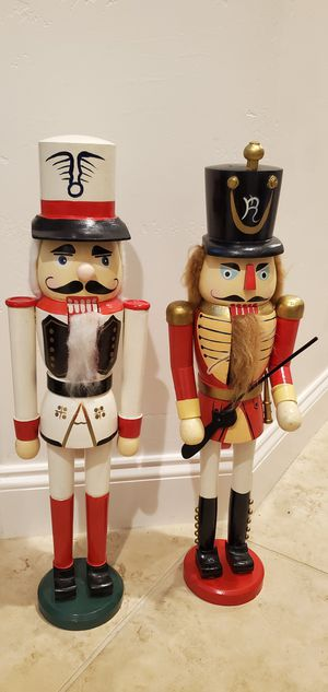 Holiday wooden Nutcrackers for Sale in Nipomo, CA