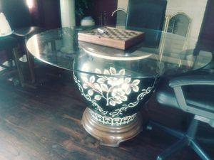 Unique Vase base dining table for Sale in Nashville, TN