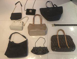 8 DESIGNER PURSES From a multi million dollar estate! Including Tiffany's Paloma Picasso and Prada for Sale in Miami, FL