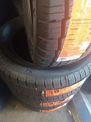 Set of four new tires Supermax 215 65 17$350free installation for Sale in Montrose, CA