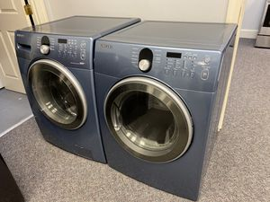 Blue Samsung h/e Front load washer and dryer set for Sale in Mint Hill, NC