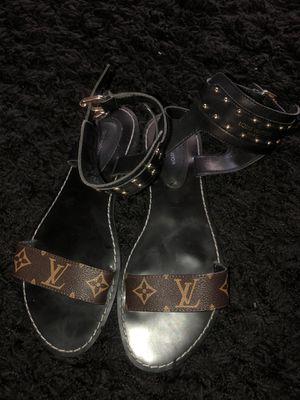 Louis Vuitton Sandals Size 40 for Sale in Atlanta, GA